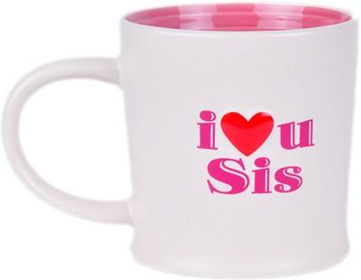 Archies I Luv U Sis Ceramic Mug