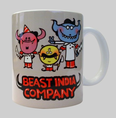 Chimp Beast India Company Porcelain Mug