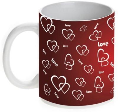 Mugwala Ceramic Love Valentine Ceramic Mug