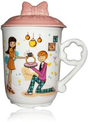 DRL DRL Love Ring  Porcelain Mug