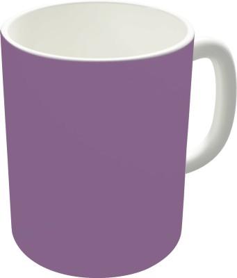 The Fappy Store Beautiful Plain Chinese Violet Ceramic Mug