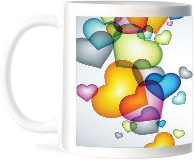 Refeel Gifts Happy Valentines Day (AS- 149)- Personalized Ceramic Mug