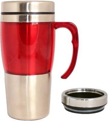 Plastron Travel  450 ml ( Red ) Plastic Mug