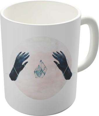 Dreambolic Ghostly Kisses Album Cover Ceramic Mug
