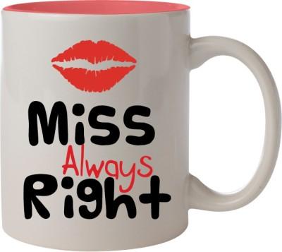 Nourish Miss Always Right Ceramic Mug