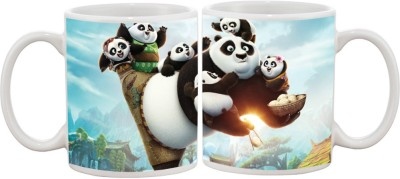 Goonlineshop Kung Fu Panda Ceramic Mug