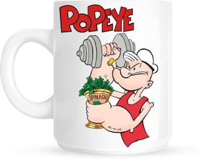 Hainaworld Popeye Spinach  Ceramic Mug