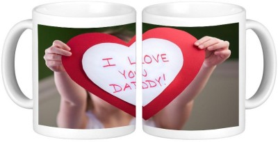Shopmillions Love You Daddy Ceramic Mug