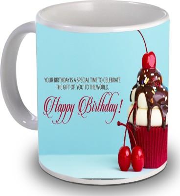 Print Helllo Happy Birthday R126 Ceramic Mug
