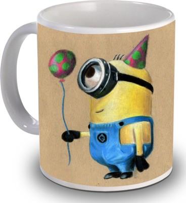 PSK Cute Minions CM101 Ceramic Mug