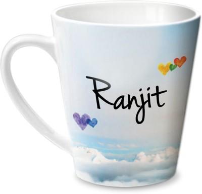 Hot Muggs Simply Love You Ranjit Conical  Ceramic Mug