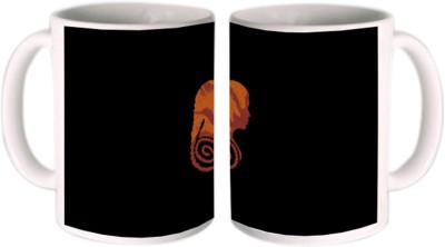 Shopmillions Dragon Girl Graphic Ceramic Mug