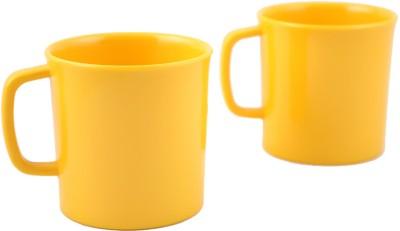Hi Luxe Solid Clr Melamin 42248 Solid - Yellow Melamine Mug