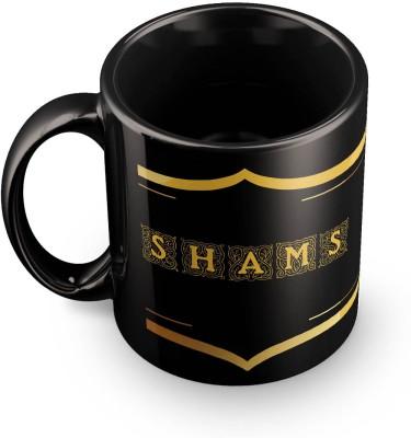 posterchacha Shams Name Tea And Coffee  For Gift And Self Use Ceramic Mug