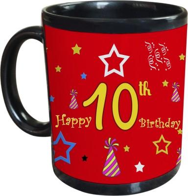 Sajawat Homes 10th Happy Birthday Coffee Ceramic Mug