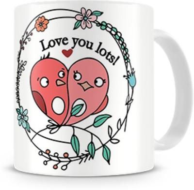 Print Haat Love U Lots Ceramic Mug
