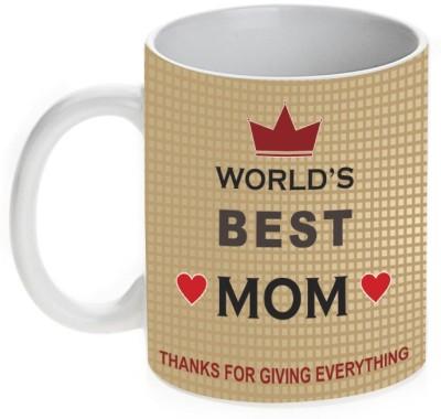 Mugwala World,s Best Mom Ceramic Mug