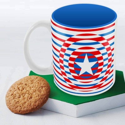 Marvel Captain America classic logo Officially Licensed Ceramic Mug