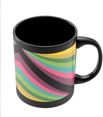 PosterGuy Abstract Art Pattern Multicolored Art Ceramic Mug