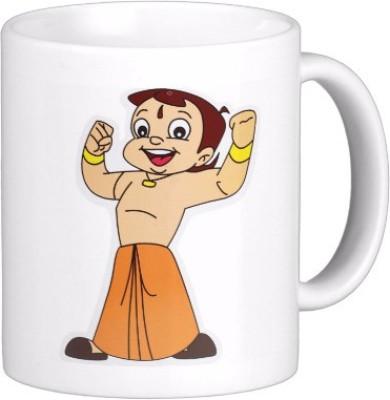 Exoctic Silver Chhota Bheem Series Kjl004 Ceramic Mug