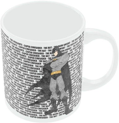 PosterGuy Caped Crusader The Bat   Fan Art Ceramic Mug