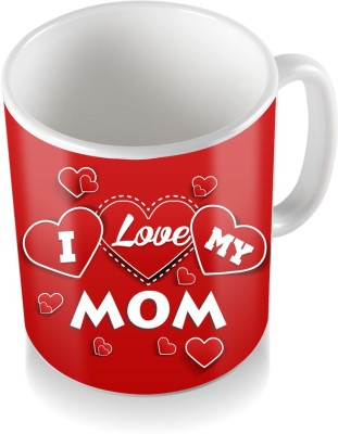 SKY TRENDS GIFT I Love My Mom Gifts For Mother,s Day Ceramic Coffee  Ceramic Mug