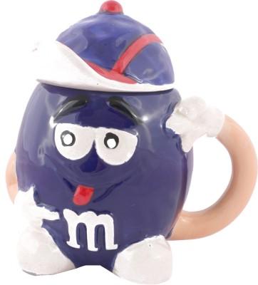 Emerge Blue M&M Porcelain Mug