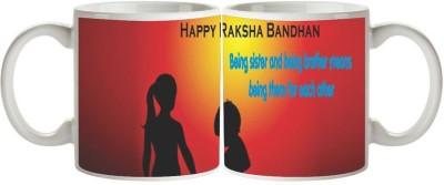 Artist Raksha Bandhan Rakhi MB-1855 Ceramic Mug