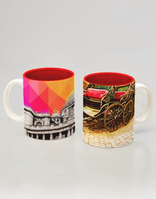 Indie Tadka Kolkata Indie Tadka Glass Mug