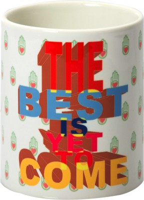 Design Guns The Best Is Yet To Come Ceramic Mug