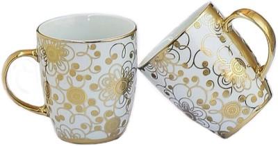 Henry Club Golden Ceramic Mug