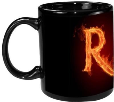 Onlineworld Black Coffee  - R Ceramic Mug