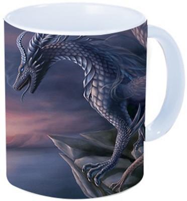 Rawkart Dragon Print Ceramic Mug
