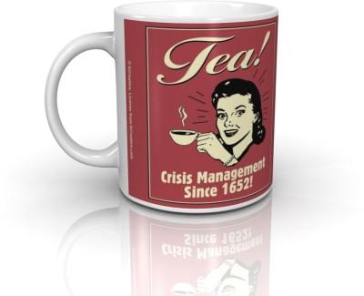 Bcreative Tea Crisis Management Since 1652! (Officially Licensed) Ceramic Mug
