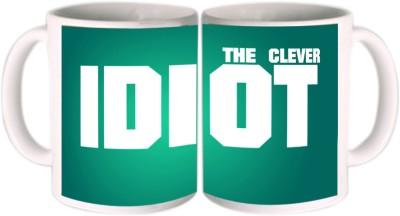 Shopkeeda The Clever Idiot Ceramic Mug