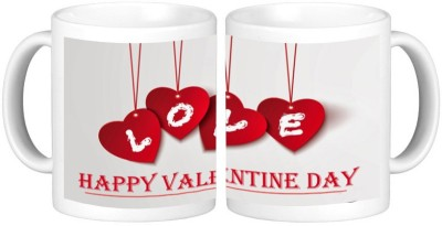 Shopmillions Beautiful Love Heart Ceramic Mug