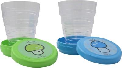 Pratha Foldable Magic Plastic Mug