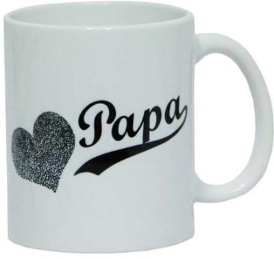 Gifts By Meeta Luv Papa  Ceramic Mug