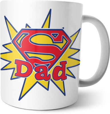 Chiraiyaa Happy Fathers Day - Dad you,re my hero Ceramic Mug