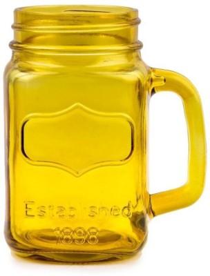 India Bongs Amber Yellow Cocktail  Glass Mug