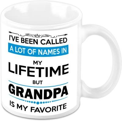 HomeSoGood  For Grandfather – My Grandpa Is My Favorite Ceramic Mug