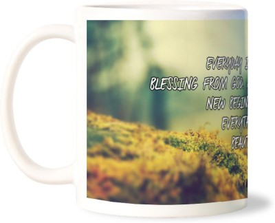 Lovely Collection Life Is A Blessing Of God Ceramic Mug