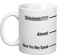 Prithish Now You May Speak Ceramic Mug(330 ml)