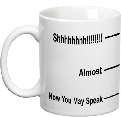 Prithish Now You May Speak Ceramic Mug
