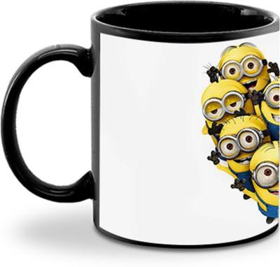 Aurra Small minion heart Ceramic Mug