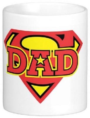 Easyhome My Dad Superman Ceramic Mug
