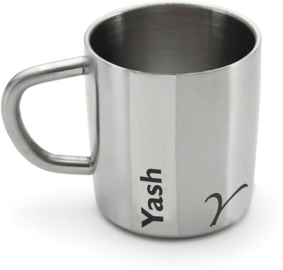 Hot Muggs Me Classic  - Yash Stainless Steel Mug
