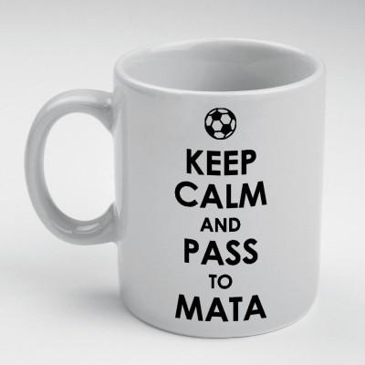 Prokyde Prokyde Keep Calm & Pass to Mata  Ceramic Mug