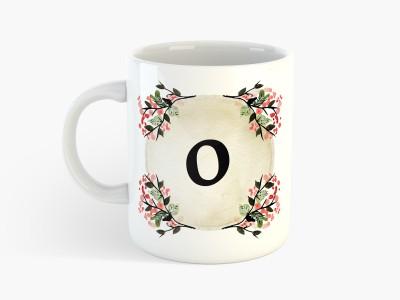 Deeher Gifts O, Name Initials - Ceramic Mug