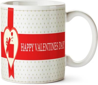 Pentagraphics Happy Valentines Day Ceramic Mug
